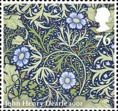Morris & Co.                                             Issued May 2011.                                  Seaweed                                                  John Henry Dearle 1901