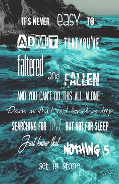 The amity affliction rip foghorn young bloods lyrics Band Quotes, Lyric Quotes, Lessons Learned In Life, Life Lessons, Music Love, Music Is Life, Amity Affliction Lyrics, Young Blood, Inspirational Signs