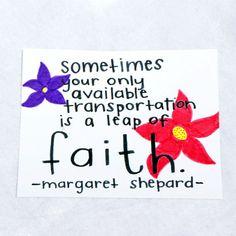 Transportation of Faith 8x10 poster by theKoalaHut on Etsy, $12.00