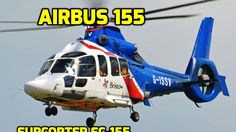 EC 155 Helicopter H155 Fly-by & Depature