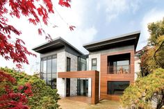 WOW! 2 story home designed by South Korean architect Hahn Joh