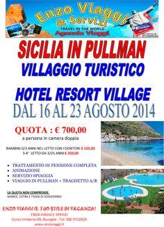 Offerte Viaggi in Pullman! www.enzoviaggi.it