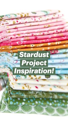Stardust Project Inspiration!