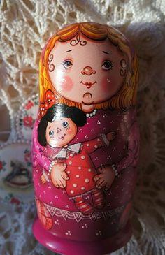"""Опять девочки, теперь """"Сестренки"""", которые очень-очень любят свои игрушки - кукол, мишек, слоников и пр.пр.. вот хлебом их не корми, ..."""