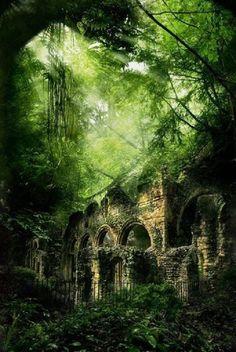 Castle Ruins, Poland
