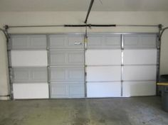 Insulating your garage door can save you money on your power bill!!