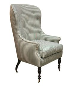 Hollyhock Barrel Back Chair