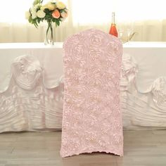 Rose Gold Theme, Gold Wedding Theme, Wedding Reception, Chic Wedding, Banquet Chair Covers, Dining Chair Covers, Spandex Chair Covers, Wedding Chairs, Wedding Table Settings