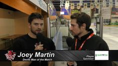 Joey Martin - Devils' Man of the Match V Sheffield Steelers