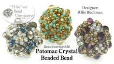 This video tutorial designed by Potomac Bead Company's Allie Buchman teaches you how to make her Potomac Crystal drum beaded beads. Find a complete list of s...