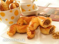 Fotorecept: Bratislavské rožky Slovak Recipes, Czech Recipes, Czech Desserts, Eastern European Recipes, Thing 1, Wonderful Recipe, Pretzel Bites, French Toast, Sweets