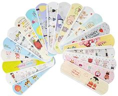 Amazon.com: Kids Bandaids -IdealPlast 100 Count Water Resistant Breathable Bandages Cute Cartoon Adhesive First Aid for Kids Children: Health & Personal Care First Aid For Kids, Kits For Kids, Emergency Kit For Kids, Bandage, Kawaii, Animal Fashion, Kids Sports, Kids Education, Cute Cartoon