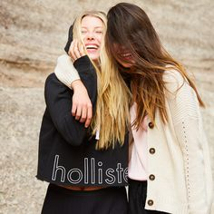 Hollister is the fantasy of Southern California, with clothing that's effortlessly cool and totally accessible. Shop jeans, t-shirts, dresses, jackets and more. Hoodie Sweatshirts, Hoodies, Spring Fever, Cropped Hoodie, New Trends, Hollister, Long Hair Styles, Couple Photos, Jackets