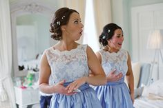Take a look at this romantic wedding by Elisha Clarke with dreamy bridal style and a pair of iconic Badgley Mischka wedding shoes. Bridesmaid Dresses, Wedding Dresses, Bridesmaids, Badgley Mischka Shoes Wedding, Bridal Style, Wedding Shoes, Floral Wedding, White Lace, Lilac