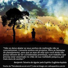Sonhos de realização e realidade psíquica.   Instituto Salto Quântico