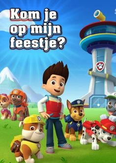 PAW Patrol, PAW Patrol, we'll be there on the double! You and your child can listen and sing along to the PAW Patrol theme song and join Ryder, Marshall, Rub. Paw Patrol Rocky, Los Paw Patrol, Paw Patrol Pups, Paw Patrol Cake, Paw Patrol Birthday, Puppy Patrol, Imprimibles Paw Patrol, Paw Patrol Party Supplies, Cumple Paw Patrol