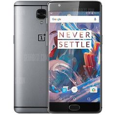Smartphone OnePlus 3 4G Android 6.0 5.5 pulgadas barato en oferta. 460 euros. Descuento del 53%