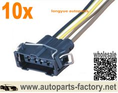 longyue 10pcs cummins isx egr valve pigtail harness connector kit 4 Prong Wiring Harness long yue 4 pin universal female connector wiring harness new 4 prong wiring harness