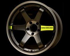 Volk Racing TE37SL Black Edition Wheel 17x9.0 5x114.3