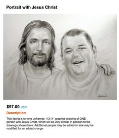 Oh man, I wanna get one of these portraits done….  bebelestrange:    via regretsy