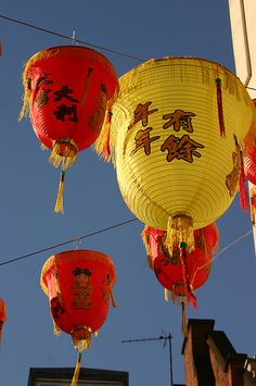 Chinese Lanterns - Chinese New Year 2006, Chinatown, London | Flickr - Photo Sharing!