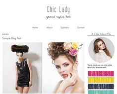 Blogger Template Design  Chic Lady Responsive Blog by ElloThemes
