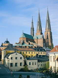 I left a piece of my heart in Uppsala, Sweden. I returned again after backpacking Europe and lived here for 7 months. I Uppsala! Stockholm, Places To Travel, Places To See, Voyage Suede, Places Around The World, Around The Worlds, Kingdom Of Sweden, Sweden Travel, Scandinavian Countries
