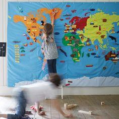 Apprendre le monde avec une carte