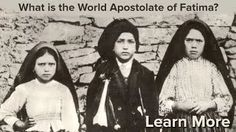 All about the World Apostolate Of Fatima - YouTube