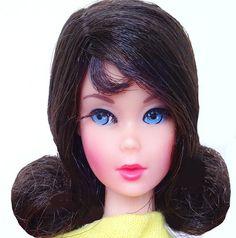 Gorgeous! Vintage Dark Brunette Flip Twist 'N Turn TnT Barbie Doll Mint!