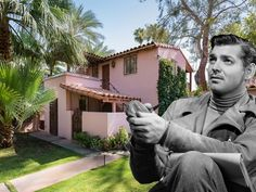 Clark Gable's Handsome Pink Palm Springs Home Asks $2.2M