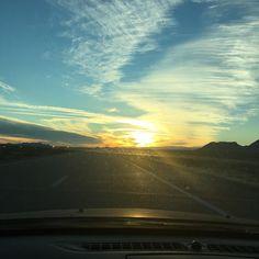 Heading into Vegas for A4m conference. Beautiful  sunset #cbd #a4m #hempgenix