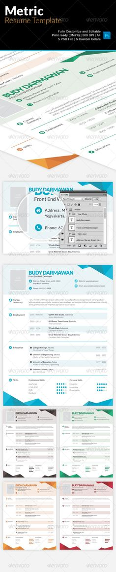 Professional Resume For Personal Trainers Professional resume - different resume templates