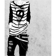 Anime.Boys clothing Manga boy ❤ liked on Polyvore featuring anime, manga and backgrounds