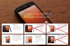 HTC One M7, Sony Xperia Z Ultra & LG G Pad 8.3 Removed from Google Play Store