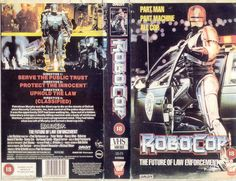 Vintage Robocop Vhs Tape (virgin Edition)