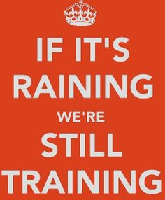 Training in the rain-Fit for Life Boot Camp