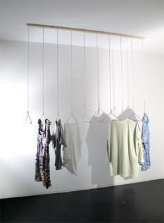 Clothing Display by White Elephant Design Lab - inspiration for diversity hill installation