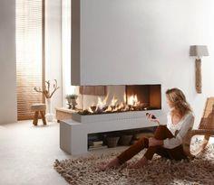 Superb Minimalist Fascinating Fireplaces Design Modern Apartment Interior                                                                                                                                                                                 More