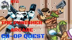 Co-Op Quest: The Punisher Arcade- Completed (The Shark & Maelstrom)