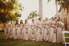Louisville Wedding Blog - The Local Louisville KY wedding resource: 18 Alternatives to Bridesmaids Carrying Floral Bouquets