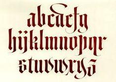 Resultado de imagen para tipografia medieval