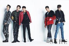5urprise Seo Kang Joon, Gong Myung, Kang Tae Oh, Lee Tae Hwan & Yoo Il, for Sure Korea December 2014. Photographed by Choi Sung Hyun