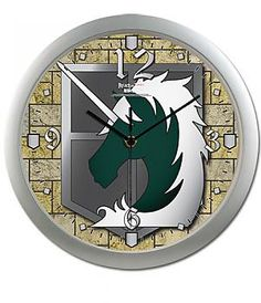 Attack on Titan Wall Clock - Military Police