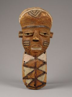 """Mask """"mbuya"""", D. R. Congo, Pende"""