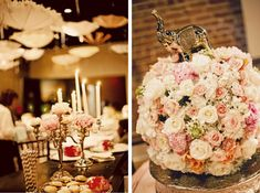 gorgeous pink white decor baby shower