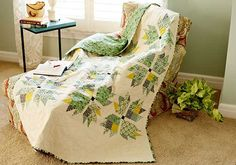Free piecing and quilting pattern sewn with Eastham fabric by Denyse Schmidt FreeSpirit designer.