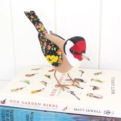 GOLDFINCH - Cotton Fabric Bird - Made to Order £45.00