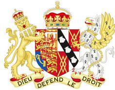 Coat of Arms of Diana, Princess of Wales (1981-1996)