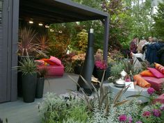 Some garden design inspiration . . . .